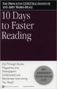 devenir un lecteur rapide : lire plus vite en dix jours seulement